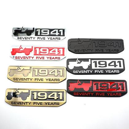 1941 Metal Badge (1pc)