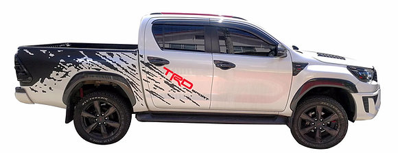 Hilux Revo Double Cab TRD Body Sticker