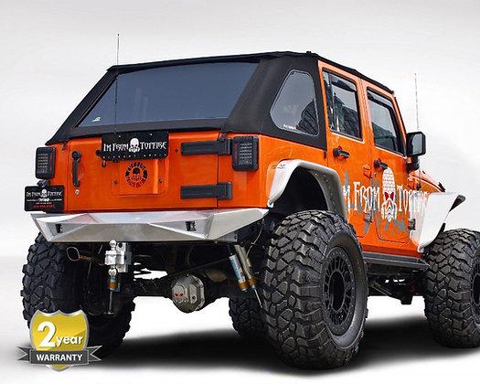 JK Steel Fury Series Rear Bumper