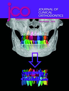 Orthodontist, Dr. Hongsheng Tong JCO Cover Page November 2015