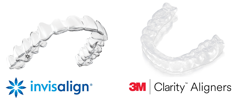Invisalign and Clarity Are Different Clear Aligner Brands