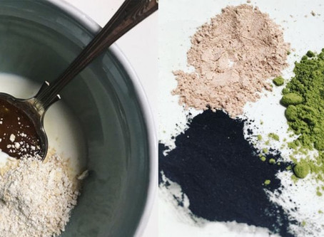 5 HOMEMADE FACE MASKS THAT HYDRATE, EXFOLIATE & BRIGHTEN YOUR SKIN