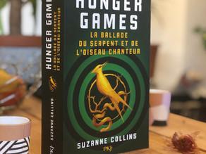 Avis - prequel Hunger Games : La ballade du serpent et de l'oiseau chanteur - Suzanne Collins