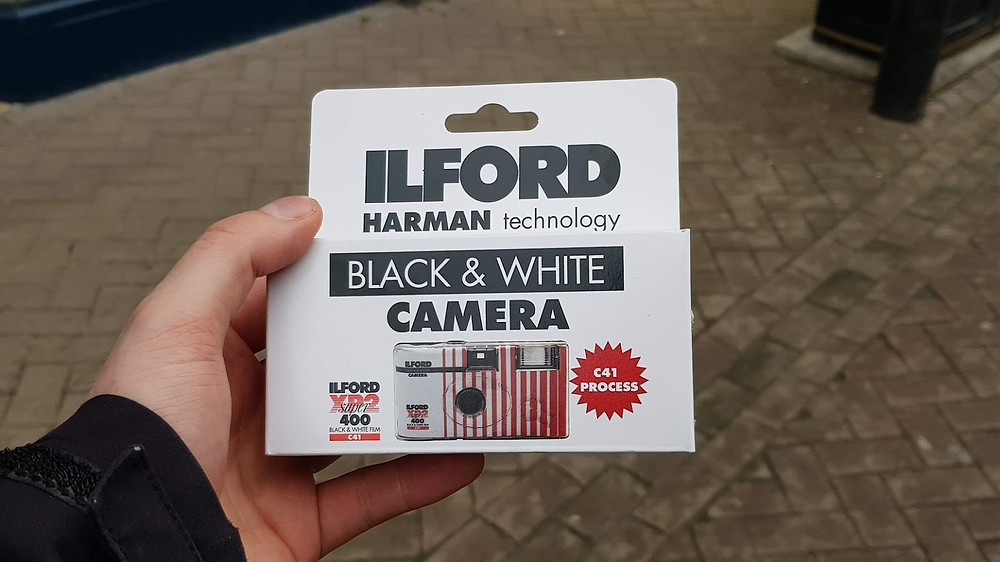 Ilford XP2 camera