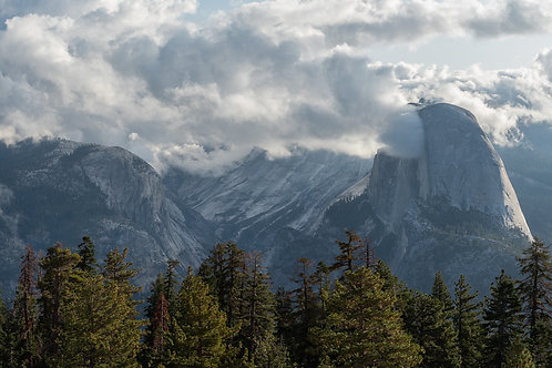 Half Dome Cloud Formation
