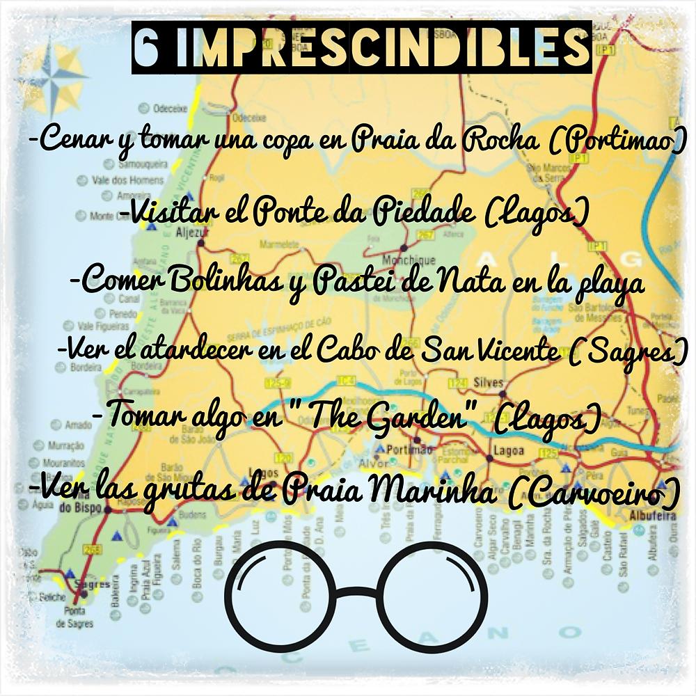 6 imprescindibles en el Algarve