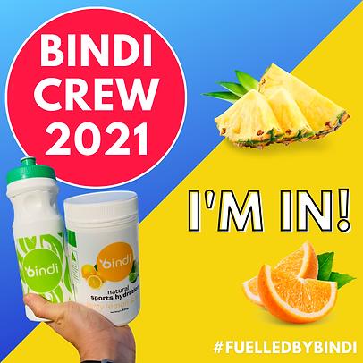 (2021) BINDI Crew Welcome (Share To Soci