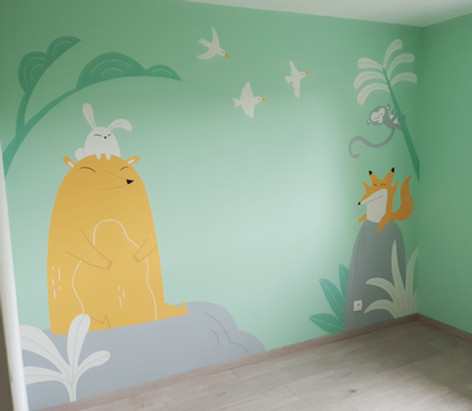 Mural | Kid Bedroom
