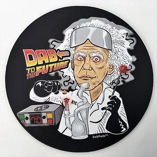 Dab to the Future Dab Pad