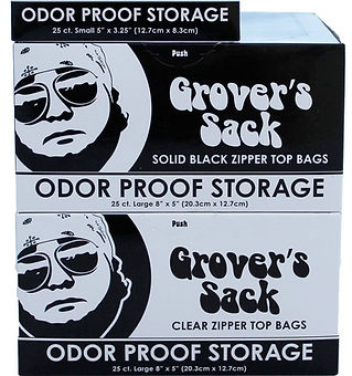 Grover's Sack Smell Proof Bags