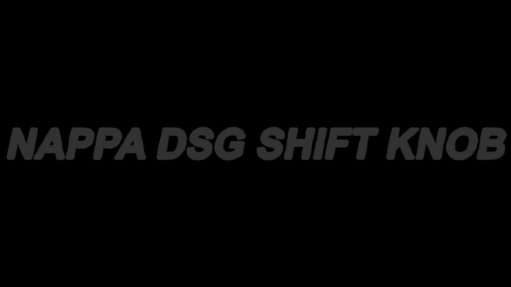 Nappa DSG Shift Knob06.png