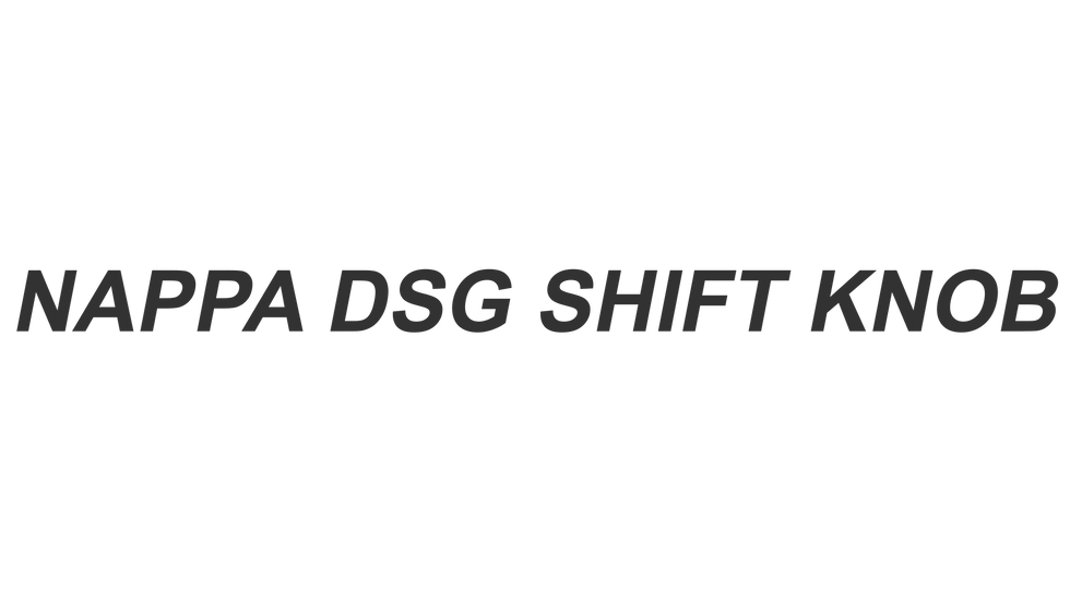 Nappa DSG Shift Knob06.png