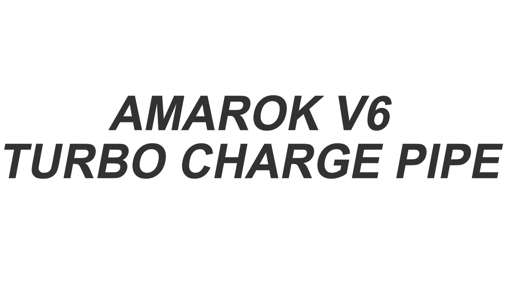 Amarok Charge Pipe11.png