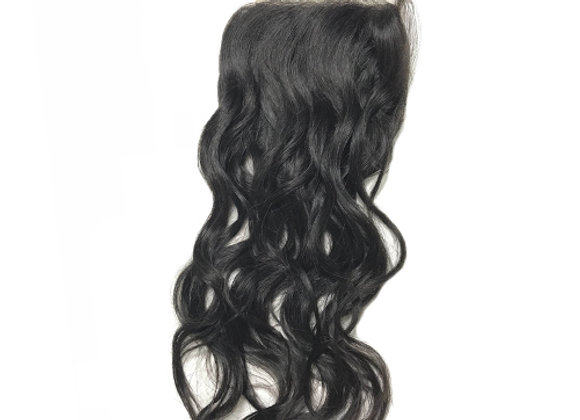 """Mink Water Wave 4x4"""" Lace Closure"""
