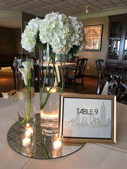 Framed Table Markers