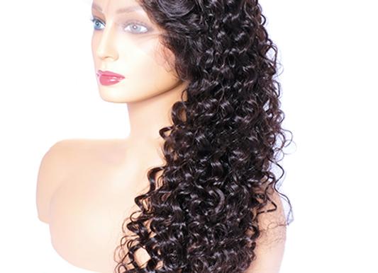 "Brazilian 1B Mink 13x6"" Lace Front Wig"