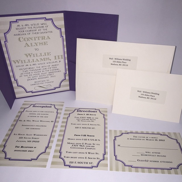 Pocketed Invitation