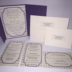 Pocketed Invitation