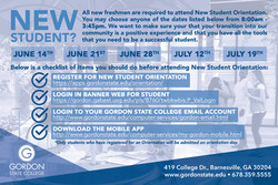 FINAL NEW STUDENT ORIENTATION front post