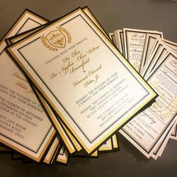 Double Matte Invitation