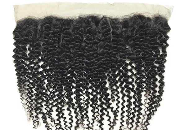 """Mink Curly Wave Lace Frontal 13x4"""""""