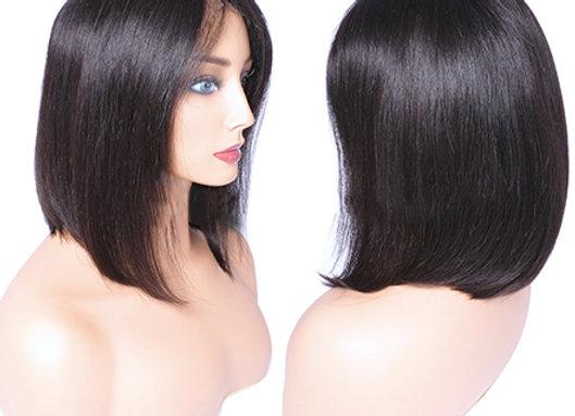 "Brazilian Mink Bob 13x6"" Lace Front Wig"