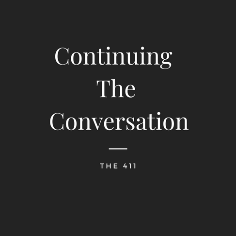 Continuing The Conversation
