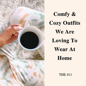 Comfy Cozy at Home Outfits