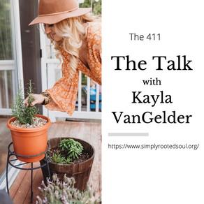"""""""The Talk"""" with Kayla VanGelder"""