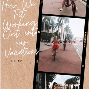 How We Fit Working Out Into Our Vacations