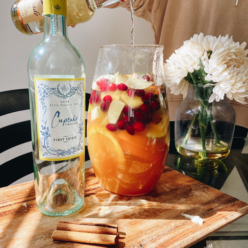 """Falling for You"" Sangria"
