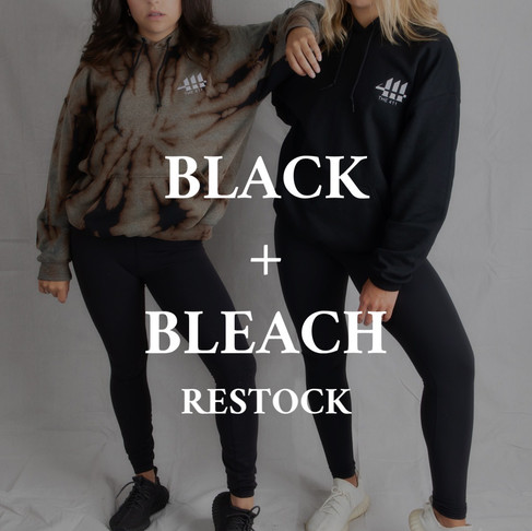 BLACK + BLEACH RESTOCK