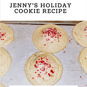 The 411 on Jenny's Holiday Cookie Recipe
