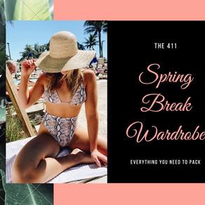 The 411's Spring Break Wardrobe