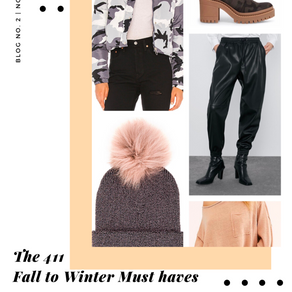 The 411's Fall to Winter Must Haves
