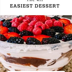 The 411's Easiest Dessert