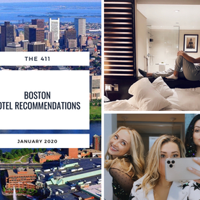 The 411's Boston Hotel Recommendations