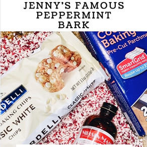 The 411 on Jenny's Famous Peppermint Bark