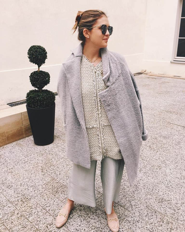 Dolce and Gabana sunglasses, Catherine Malandrino shoes, Zara pants, Zara zip up