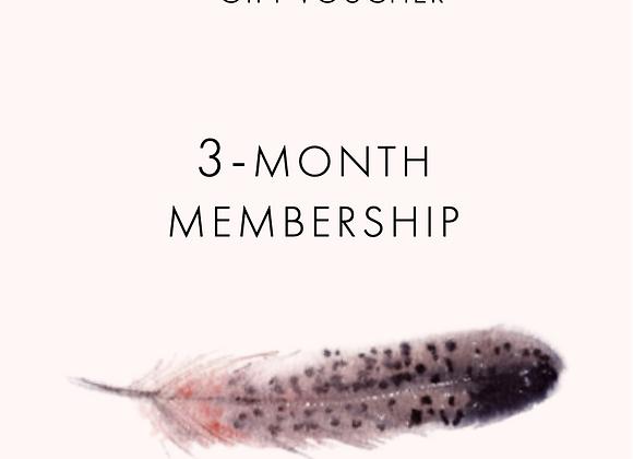 3-month Membership Voucher