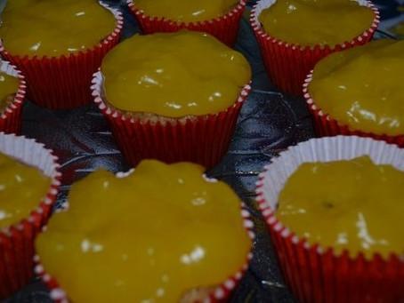Como fazer Cupcake de laranja?