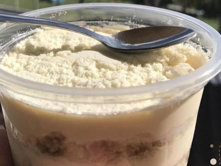 Como fazer bolo de pote de leite ninho?