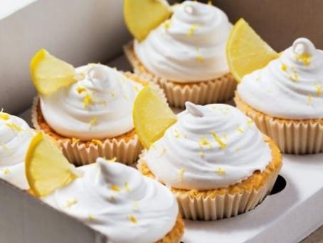 Como fazer cupcake de torta de limão?