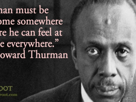 Lord, Lord, Open Unto Me: Howard Thurman (Prayer)