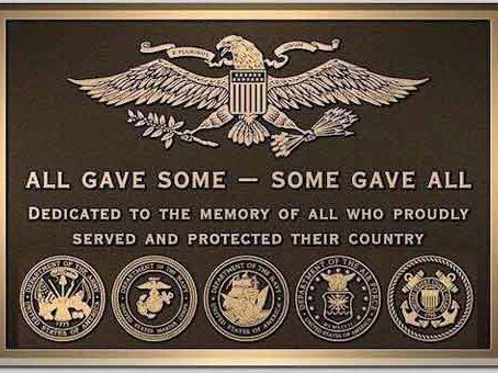 MEMORIAL DAY - PRESERVING THEIR LEGACY