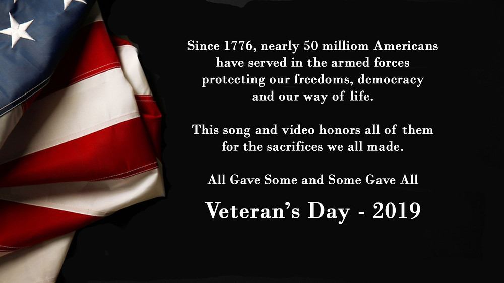 Veteran's Day tribute to our veterans