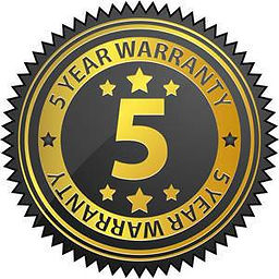 5 year warrenty