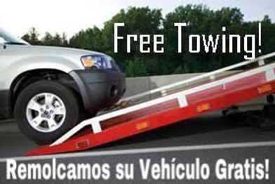 Free Towing* with repairs