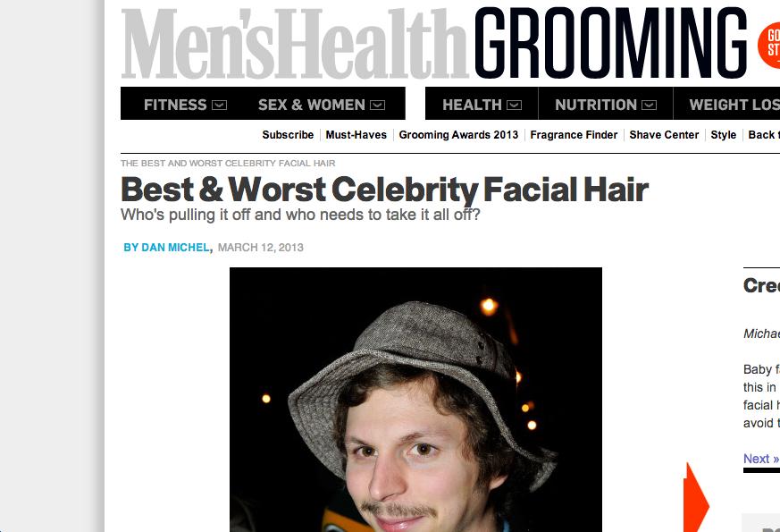 Best & Worst Celebrity Facial Hair