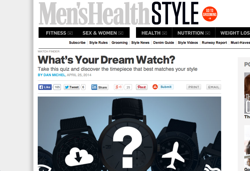 QUIZ: What's Your Dream Watch?